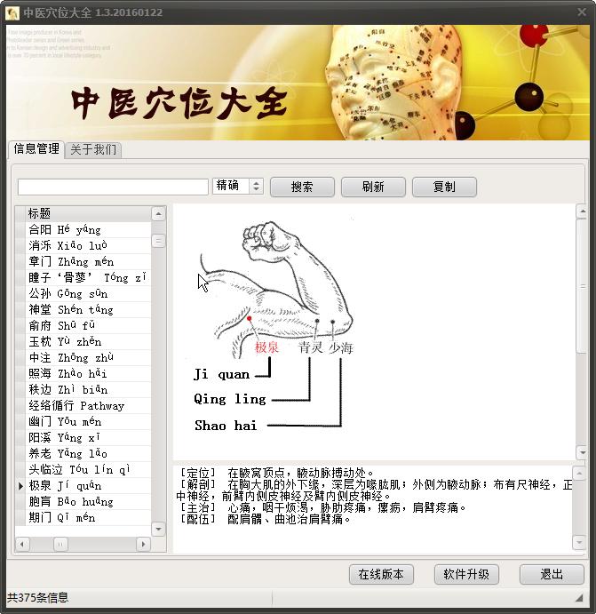 中医穴位查询系统1.02